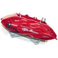 Alfa Mito met Brembo remmen, remklauw rood  vooras