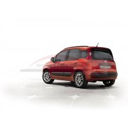 Fiat Panda vanaf 2012, velgenset 15 inch met wielnaafkapjes