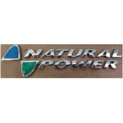 Fiat Panda vanaf 2003 embleem Natural Power