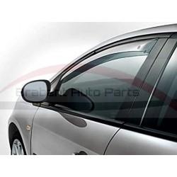 Fiat Grande Punto / Punto EVO 3 deurs zijwindschermen voorportier