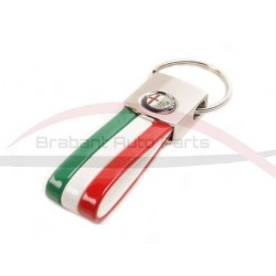 Keyring tricolore Alfa Romeo