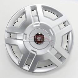 Fiat Ducato 250-290, wieldop 15 inch met rood Fiat logo