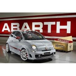 Fiat 500 ABARTH velgenset Esseesse glanzend wit 17 inch