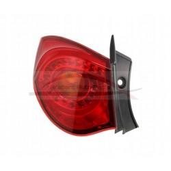 Alfa Romeo Giulietta, achterlicht buitenzijde
