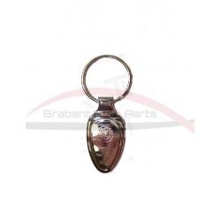 Alfa Romeo sleutelhanger zilver