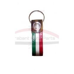 """Fiat sleutelhanger """"tricolore"""""""