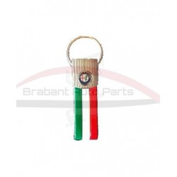 "Alfa Romeo sleutelhanger ""tricolore"""