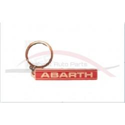 Abarth sleutelhanger letters