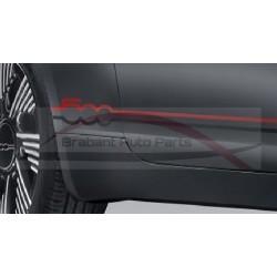"Fiat 500E sticker / stripingset ""sport"""
