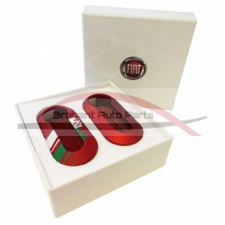 "Fiat 500 Keycover set ""Italia"""
