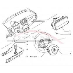 Fiat 500 airbag bijrijder