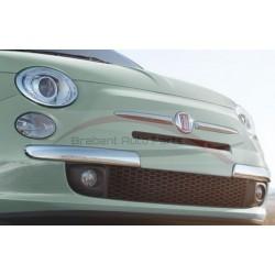 Fiat 500 bumperlijsten voorzijde