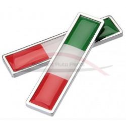 Fiat 500 badge Tricolore