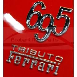 Fiat 500 Abarth Tributo Ferrari embleem